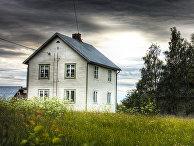 Домик неподалеку от Паялы, Северная Швеция