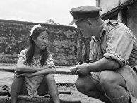 Допрос (в августе 1945 года) юной китаянки, которую японские военные использовали в качестве секс-рабыни