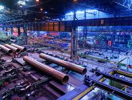 """Производство труб для строительства газопровода""""Северный поток – 2"""" на заводе Europipe в Мюльхайме"""