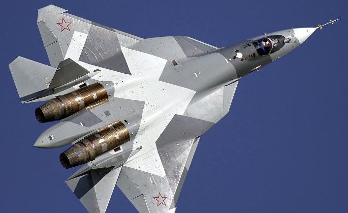 Малозаметный многоцелевой истребитель Т-50 (Су-57)