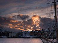 Город Тромсё, Северная Норвегия
