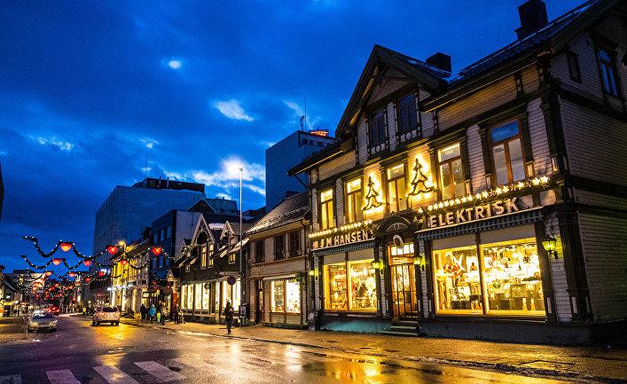 Тромсё, Северная Норвегия