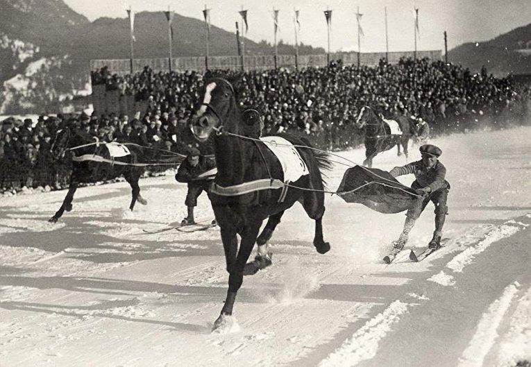 Скиджоринг в 1930 году