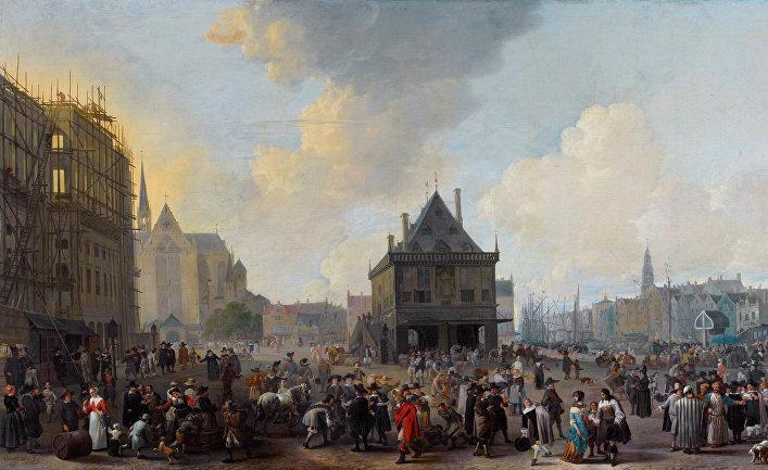 Амстердам в середине XVII века