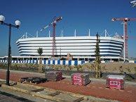 Подготовка к ЧМ-2018 по футболу в Калининграде