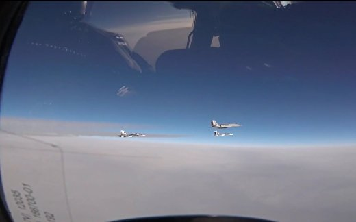 F-15 vs Су-30. Инцидент над Балтикой