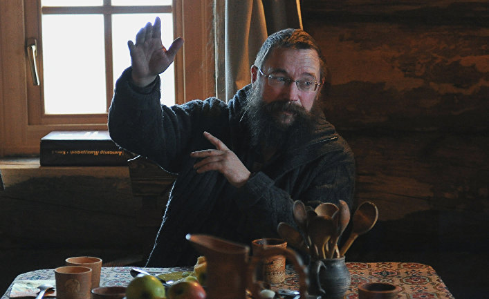 Предприниматель Герман Стерлигов в своем доме