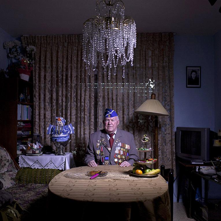 Советский еврей, Ветеран Второй Мировой Войны Майкл Сандлер