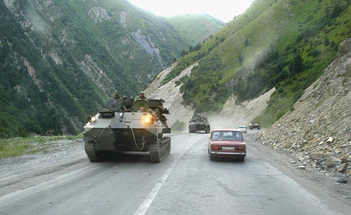 Военная техника России в Южной Осетии