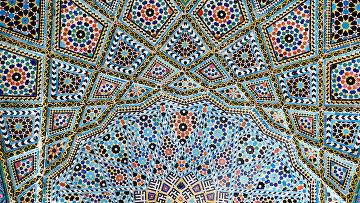 Мечеть Насир Аль-Мульк в Иране