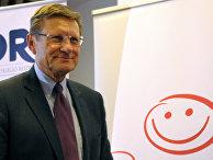 Польский экономист и политик Лешек Бальцерович