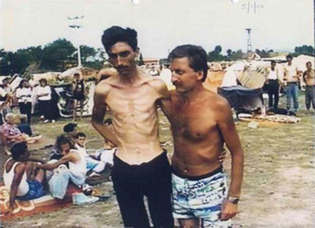 Заключённые лагеря Трнополье