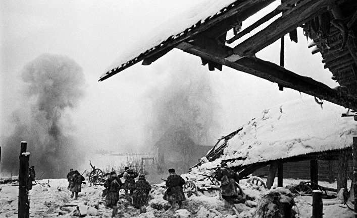 Оборона Ленинграда. Волховский фронт, 1943 год.