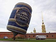 Воздушный шар ОАО «Пивоваренная компания «Балтика»