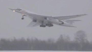 Ту-160. Специальный полет для Путина