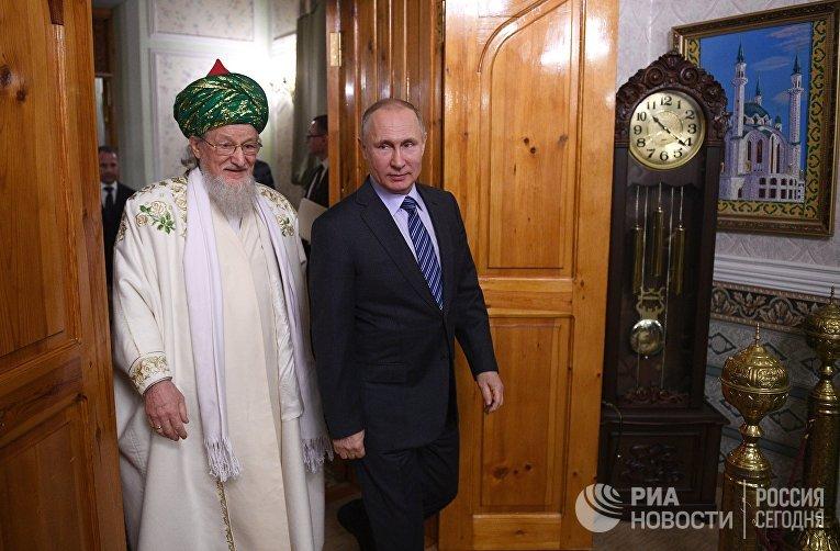 Рабочая поездка президента РФ В. Путина в Башкирию