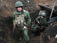 Ситуация на линии разграничения в ДНР