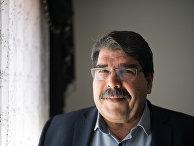 Лидер сирийских курдов Салих Муслим Мухаммад