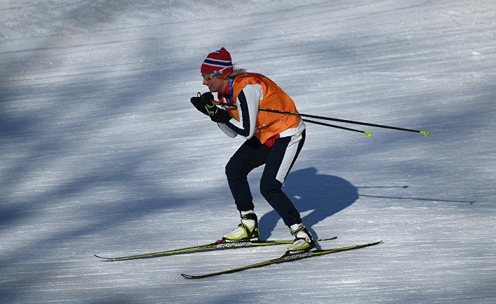 Олимпиада 2018. Лыжные гонки. Тренировки
