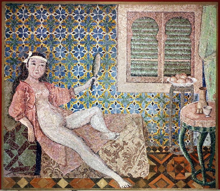 Картина французского художника Бальтюса