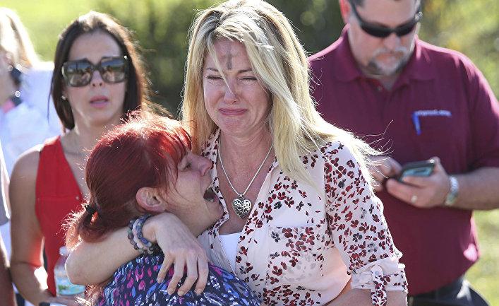 Стрельба в школе в городе Паркленд, штат Флорида