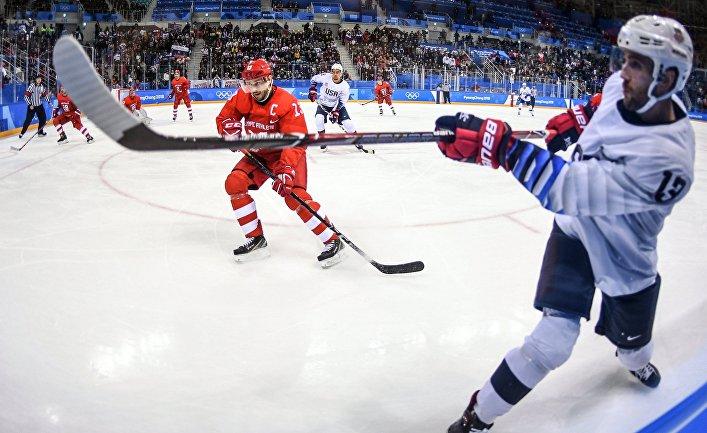 Олимпиада 2018. Хоккей. Мужчины. Матч Россия - США