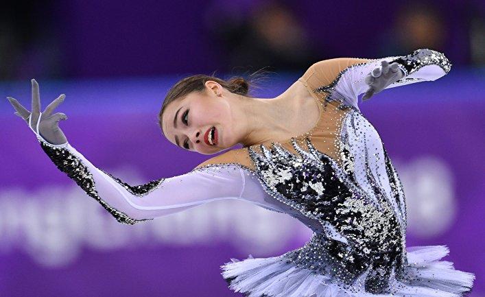 Российская фигуристка Алина Загитова. Олимпиада 2018