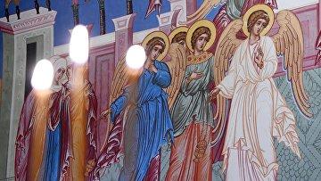 Патриаршее служение в Крещенский сочельник в Храме Христа Спасителя