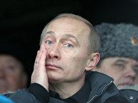 В.Путин на театрализованном представлении