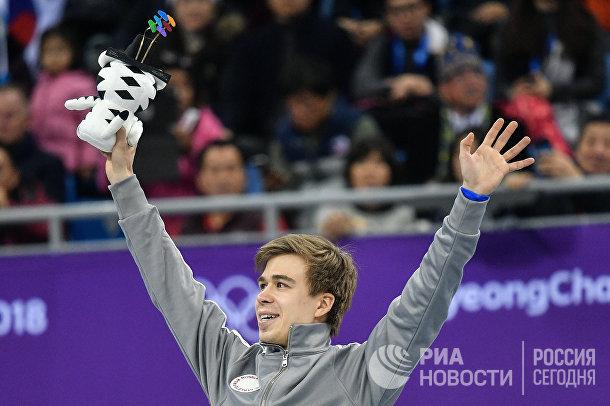 Российский спортсмен Семен Елистратов