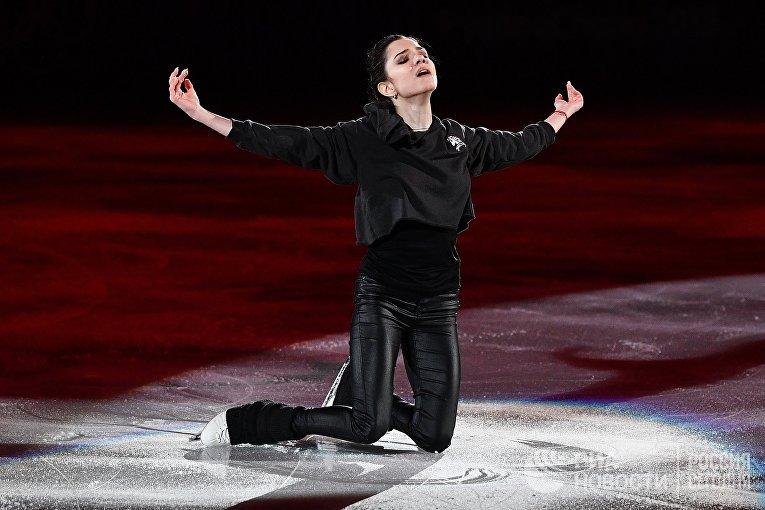 Российская фигуристка Евгения Медведева, Олимпиада 2018