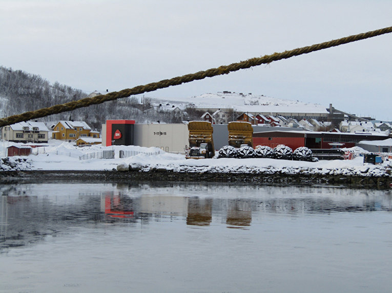 Норвежский город Киркинес