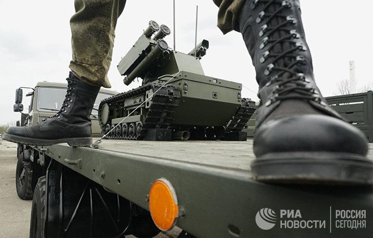 Подготовка боевой техники к участию в параде Победы в Калининграде
