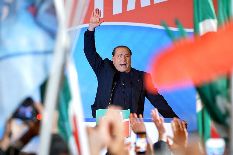Бывший премьер-министр Италии Сильвио Берлускони