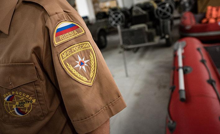 Сотрудник Российско-сербского гуманитарного центра в городе Ниш