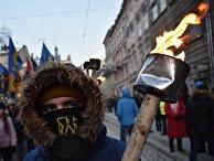 Марш националистов во Львове