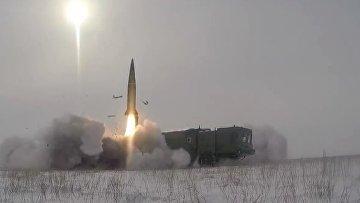 «Искандер-М» ударил по командному пункту