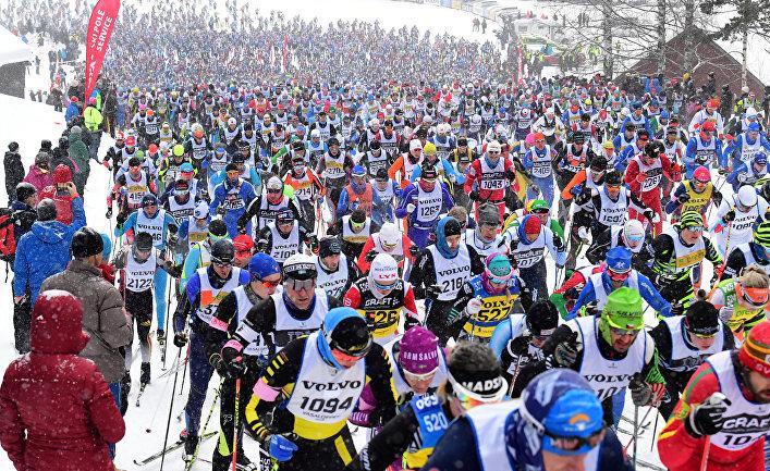 Лыжная гонка Васалоппет в Сален, Швеция