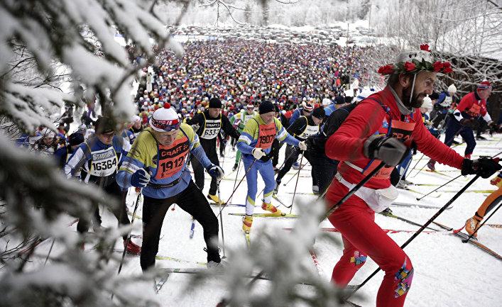 Лыжная гонка Васалоппет в Сэлене, Швеция