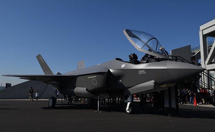 Истребитель F-35A Воздушных сил самообороны Японии