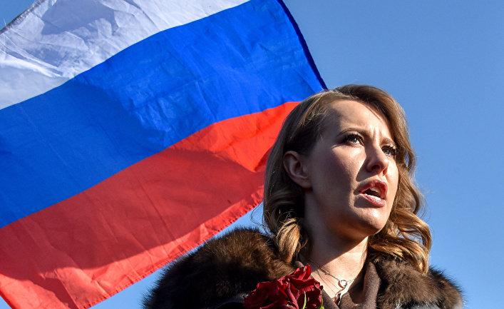 Кандидат в президенты России Ксения Собчак