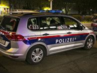 Автомобиль полиции в Вене