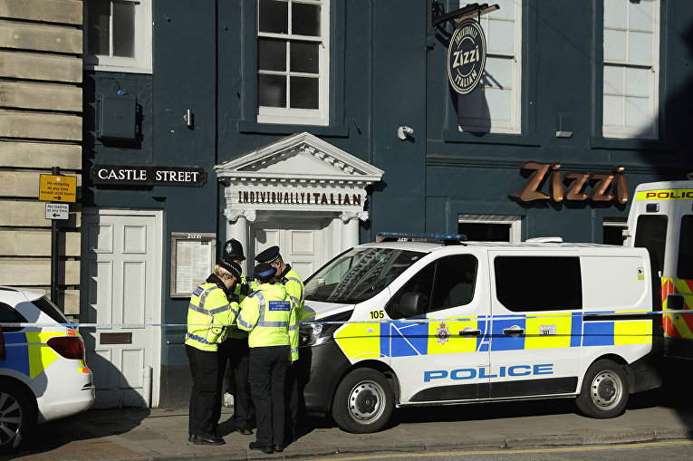 Ресторан Zizi в Солсбери, который был закрыт после госпитализации бывшего полковника ГРУ Сергея Скрипаля