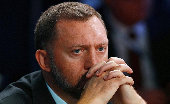 """Председатель наблюдательного совета компании """"Базовый Элемент"""" Олег Дерипаска"""