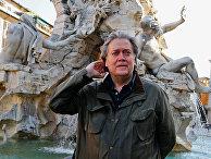 Стив Бэннон на площади Навона в Риме