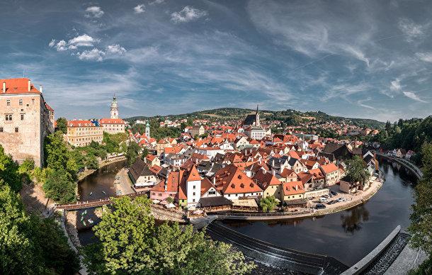 Чески-Крумлов, Чехия