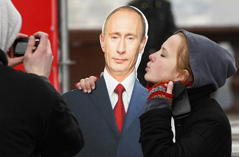 Митинг в поддержку Владимира Путина в Москве