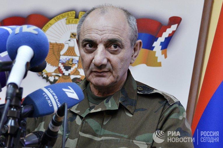 Президент непризнанной Нагорно-Карабахской Республики Бако Саакян