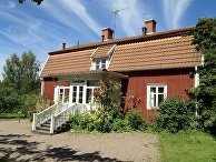 Нэс— ферма, где провела детство Астрид Линдгрен. Виммербю, Швеция