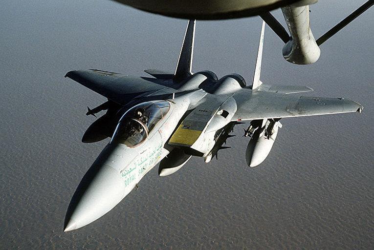 Американский тактический истребитель F-15 «Игл»